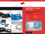Pixcard, brochure, plaquette, flyer, coffret video