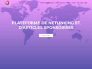 Plateforme de netlinking pour des articles sponsorisés de qualités et pas chers