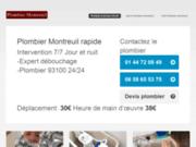 Plombier Montreuil