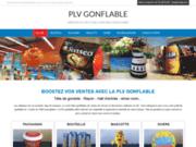 PLV gonflable sur mesure pour GSB et GMS