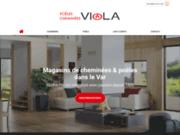 Viola - Magasin de cheminées