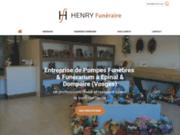 Henry Funéraire, pompes funèbres à Épinal