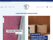 La boutique en ligne des ponchos de surf