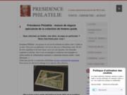 Vente de timbres rares par Présidence Philatélie