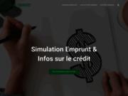 PRET-CREDIT, simulateur de prêt