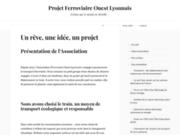 Projet Ferroviaire Ouest Lyonnais