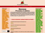 Citations et proverbes, le guide francophone