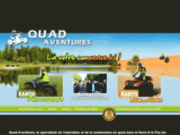 Quad Aventures 59 - Randonnées quad 59 Nord