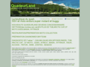 Quadeur Land - Concessionnaire quad 26