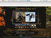 Quad moto enduro en Rhône Alpes