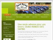 Quad Rando des Sapins - Randonnées Quad Beaujolais (69 - Rhône)