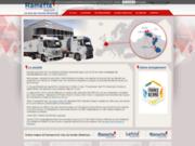 Transport de marchandises en camion et citerne