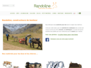 Randoline, spécialiste du bât pour ânes et de la randonnée