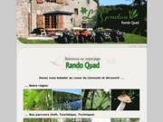 Rando Quad Corrèze 19 - Ferme de la Genetouse