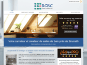 RCBC : rénovation de salles de bain en Alsace