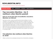 Les 5 meilleurs sites libertin gratuits