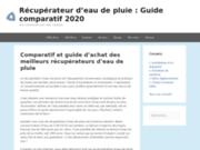 Récupérateur d'eau de pluie: le guide d'achat