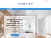 L'entreprise REMISE À NEUF à Gonesse réalise vos travaux de rénovation