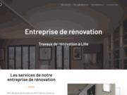 Rénovation Lille, travaux de revêtements et de plâtrerie