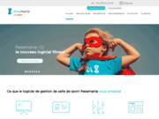 Resamania : solution web pour club de fitness