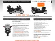 Réservation moto taxi Roissy Cdg