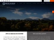 Gite Auvergne : Chalet en bois :  Reves De bois