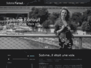 Sabine Faraut, la voix off féminine de talent