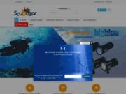 Magasin de vente de matériel de plongée sous-marine situé à Hyères