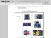 SEGEMA : solutions de stockage pour l'Industrie