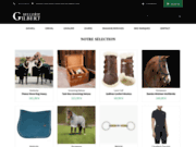 La boutique pour équipements et accessoires d'équitation