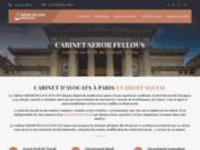 Cabinet d'avocat en droit du travail