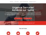 Urgence serrurier Asnières sur Seine