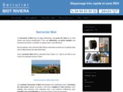 Site officiel Serrurier Biot Riviera