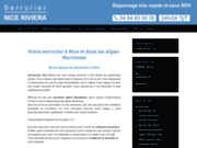 Site de l'entreprise Serrurier Nice Riviera