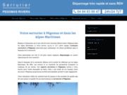Serrurier sur la région de Pégomas et ses environs