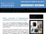 Serrurier Roquebrune Cap Martin Riviera