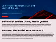 SIte officiel Serrurier St Laurent Du Var Riviera