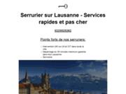 Serruriers d'urgence Lausanne