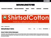 T-shirts en coton ShirtsofCotton