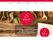 Agence de communication Annecy Sign Up Food'in