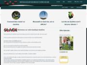 Slackline - accessoires et kits de slackline