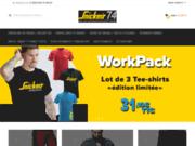Boutique de vente des vêtements professionnels pour les artisans