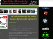 Sportbike-motordesign