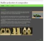 Stafler polyester et composites