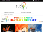 Sublipix - tirage de haute qualité en Subligraphie