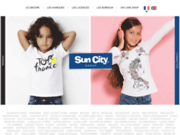 suncity vous permet d'acheter des vêtements sous licence