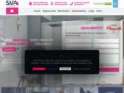 Sva France douche séniors pied pour personnes âgées