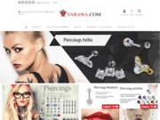 Tarawa : site de vente en ligne de Bijoux - Piercings - Tatouages temporaires