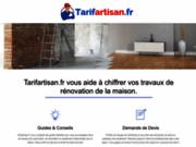 Tarif Artisan : travaux maison et exemples de devis