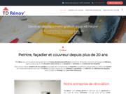 TD Rénov, entreprise de rénovation toiture façade et peintures intérieures à Aubière